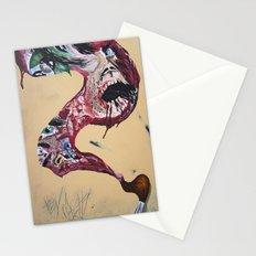 Brushstroke Stationery Cards