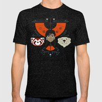 Spirited Avatar Mens Fitted Tee Tri-Black SMALL