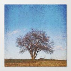 Simple Tree Canvas Print