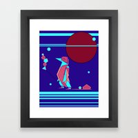 Penguin Time Framed Art Print