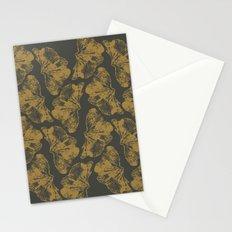 Ginkgo Fossils - Dark Stationery Cards
