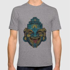 Morpho Mask Mens Fitted Tee Athletic Grey SMALL