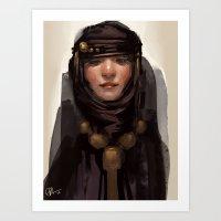 Shroud Art Print