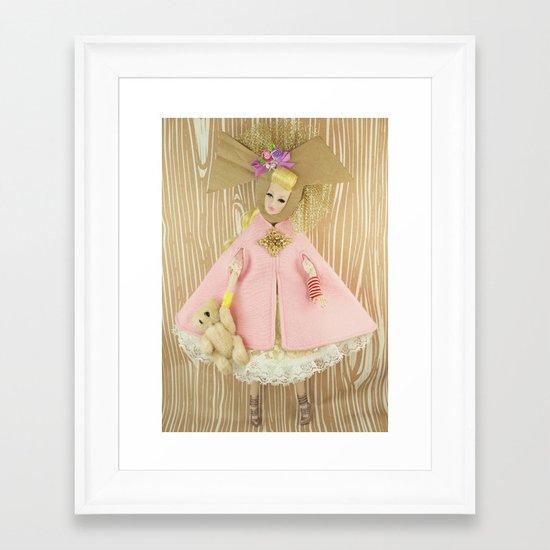 Carousel Of Color Framed Art Print
