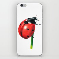 Ladybug | Colored Pencil… iPhone & iPod Skin
