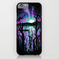 Night With Aurora iPhone 6 Slim Case