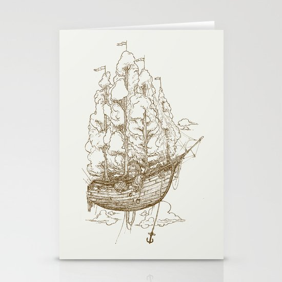 Voyage Home Stationery Card