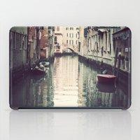 Boats in Venice iPad Case