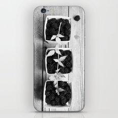 Black and White Blackberries iPhone & iPod Skin