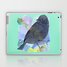 Vinter fugl Laptop & iPad Skin