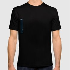 PONG - RUG SMALL Black Mens Fitted Tee