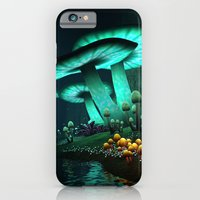 iPhone & iPod Case featuring Enchanted Forest by Texnotropio