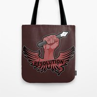 Viva La Resolution! Tote Bag