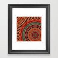 Mandala 133 Framed Art Print