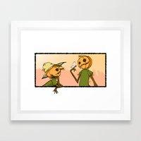 ScirCrowe Framed Art Print