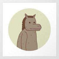 Horse Thing Art Print