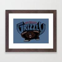 Revenant Grizzly Framed Art Print