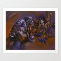 Gentle Roar Art Print