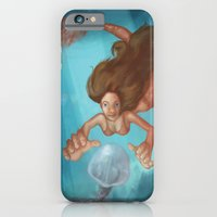 iPhone & iPod Case featuring Mermaid by GalaArt
