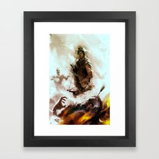 [ Daryl Dixon * Norman R… Framed Art Print