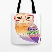 Pretty Awesome Owl Tote Bag
