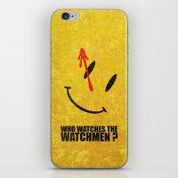The Watchmen (Super Mini… iPhone & iPod Skin