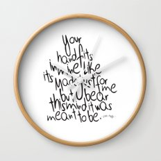 Little Things - One Direction Wall Clock
