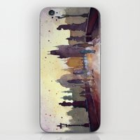 Prague, Watercolor Explo… iPhone & iPod Skin