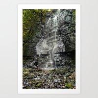 Swallet Falls Art Print