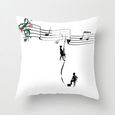 TANAN (Fighting for Love) Throw Pillow