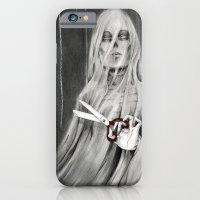 iPhone & iPod Case featuring La Mort / Death by Stephane Lauzon