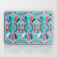 Iridescent Watercolor Br… Laptop & iPad Skin