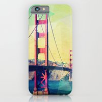 iPhone Cases featuring The Bridge by Mareike Böhmer Graphics