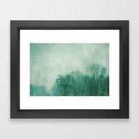 Winter In Green Framed Art Print