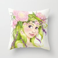 Dryad Throw Pillow