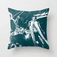 A Dark Prince Throw Pillow