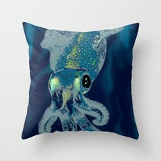 Subaquatic Aurora  Throw Pillow