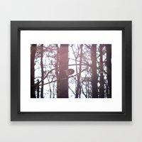 tit Framed Art Print