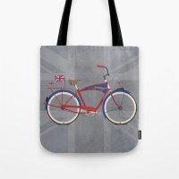 British Bicycle Tote Bag