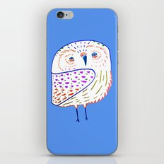 owl print, owl illustration, owl art, owl  iPhone & iPod Skin