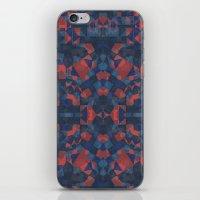 Blue Tile iPhone & iPod Skin