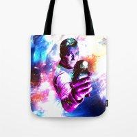 Color Jump, James T Kirk Tote Bag