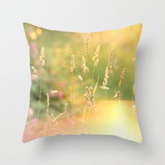 A Field Far Far Away Throw Pillow