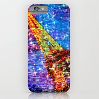 eiffel iPhone & iPod Cases featuring Eiffel by haroulita