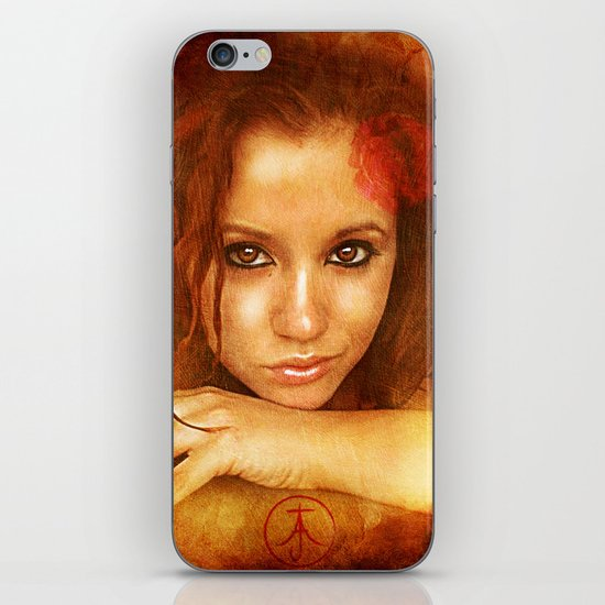 Badly Drawn Girl iPhone & iPod Skin