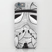 iPhone & iPod Case featuring Stormtrooper: Another Drill (grey) by David Stanfield