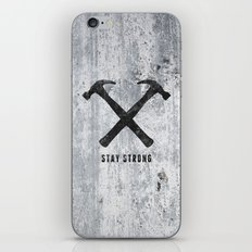Stay Strong iPhone & iPod Skin
