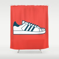 #56 Adidas Superstar Shower Curtain