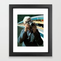 Twin Shot Framed Art Print