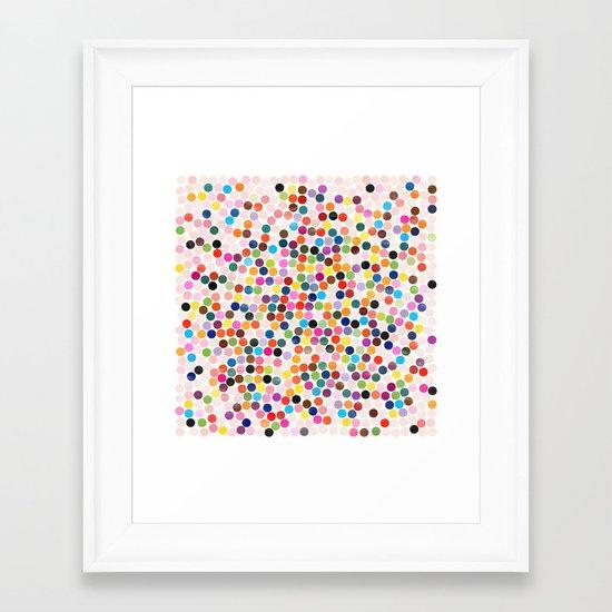 dance 3 Framed Art Print